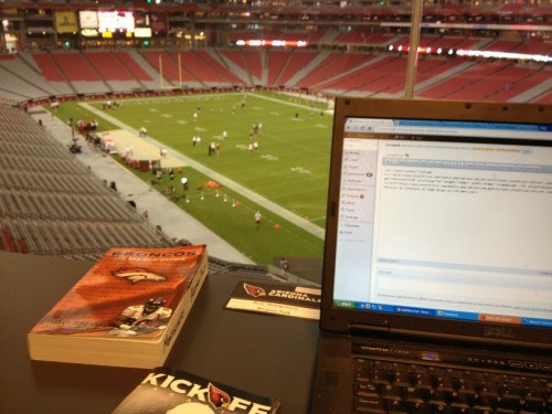 University of Phoenix press box