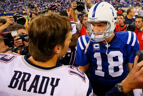 Tom Brady vs Peyton Manning