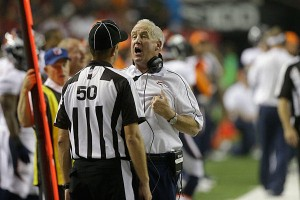 John Fox isn't very happy!