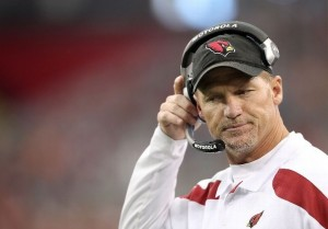 Former Arizona Cardinals head coach Ken Whisenhunt was fired on January 1st, 2013. (Photo by Christian Petersen/Getty Images)