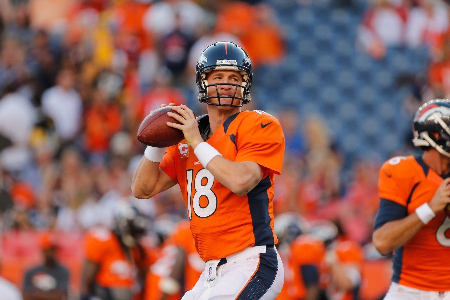 Broncos rock Steelers 31-19 in Peyton Manning's debut ...